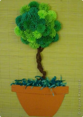 Наконец то мы создали своё дерево. Спасибо всем кто поделился способом изготовления.