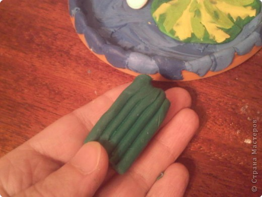 Лепка: Царевна-Лягушка.  Мастер-класс. Часть вторая. фото 6