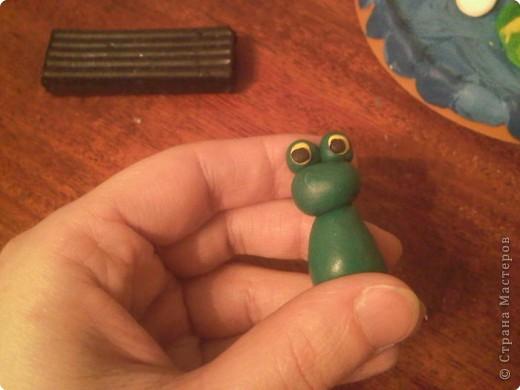 Лепка: Царевна-Лягушка.  Мастер-класс. Часть вторая. фото 12