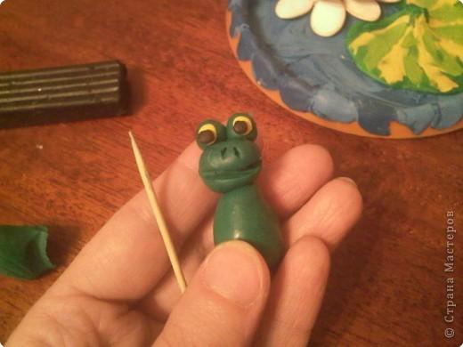 Лепка: Царевна-Лягушка.  Мастер-класс. Часть вторая. фото 13