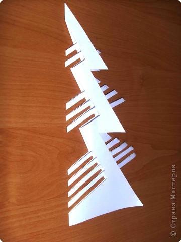 Эти елочки получаются в результате склеивания одинаковых деталей. фото 4