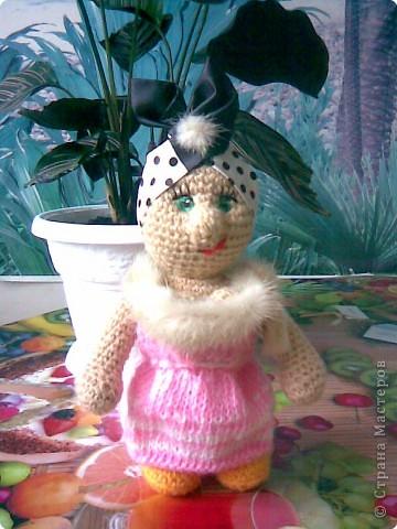 Вязание крючком: Бабуличка-красотуличка