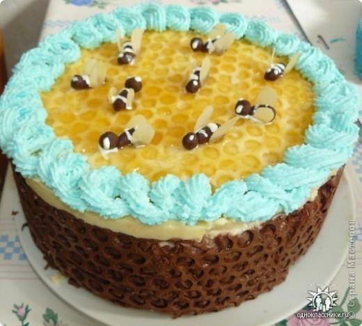 """Торт """" Пчёлка """""""