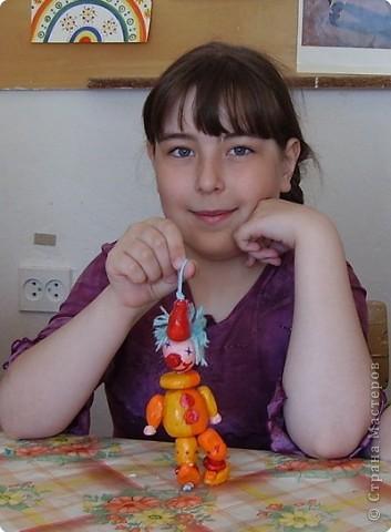 Игрушки-дергунчики из соленого теста. Работы   Кати Багровой,Алины Курбановой и Анжелики Артемовой фото 2