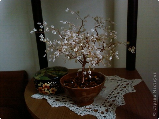 Маленькое дерево,сделанное на заказ