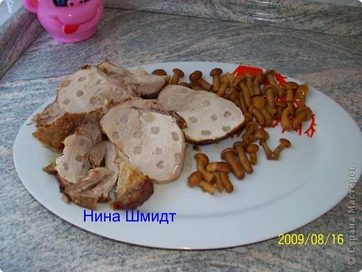 Так выглядит мясо после приготовления, в разрезе. фото 1