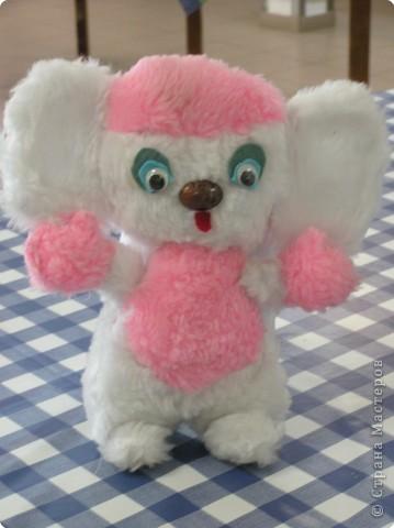 розовый чебурашка - мягкая игрушка
