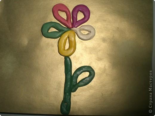 Лепка: Цветок