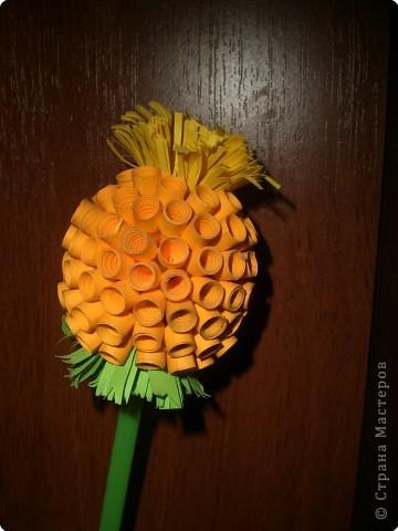 Квиллинг: Цветок