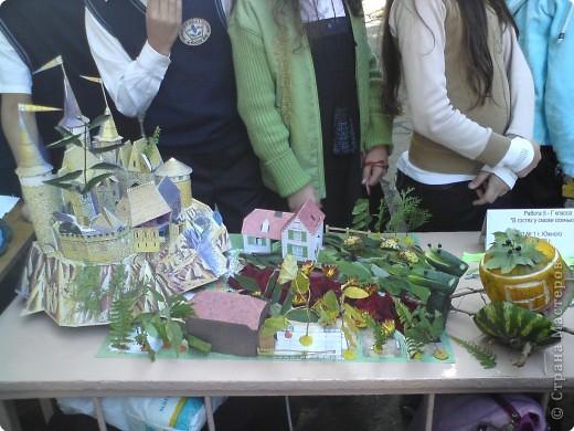 Украиночка- работа учащихся 9-класса, голова выполнена в технике папье-маше.  фото 4