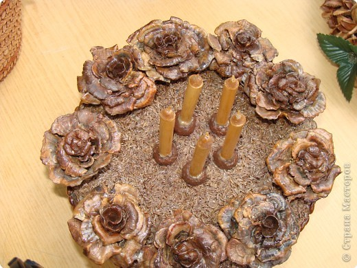 Не определена, Резьба по дереву: Поделки из природного материала фото 1