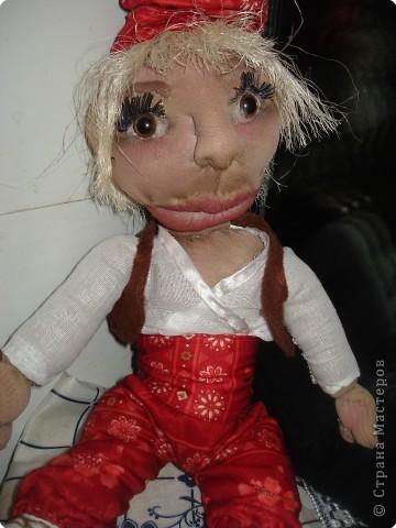 мы с дочерью увлеклись куклами,это первая.Зовут Нафаней. фото 8
