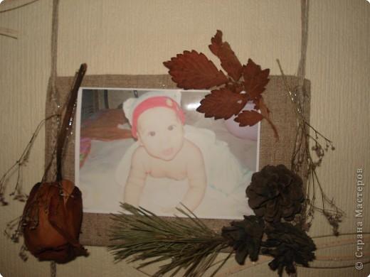 одна из секций тройной фоторамки(с фотографией любимого внука Дениски) фото 11