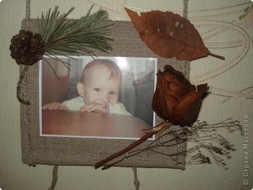 одна из секций тройной фоторамки(с фотографией любимого внука Дениски) фото 12