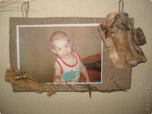 одна из секций тройной фоторамки(с фотографией любимого внука Дениски) фото 14