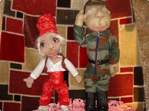 мы с дочерью увлеклись куклами,это первая.Зовут Нафаней. фото 9