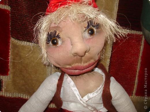 мы с дочерью увлеклись куклами,это первая.Зовут Нафаней. фото 1