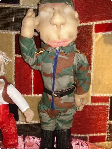 мы с дочерью увлеклись куклами,это первая.Зовут Нафаней. фото 11