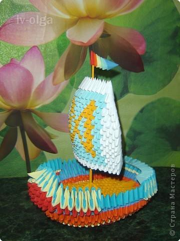 Оригами модульное: Мой корабль удачи