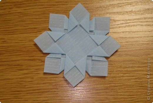 Оригами: Снежинки фото 18