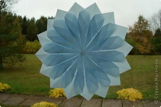 Оригами: Снежинки фото 9