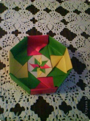 Квадрат для нижней части шкатулки  такого же размера, что и  для крышки. Намечаются две диагонали фото 13