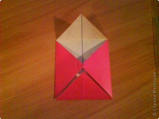 Квадрат для нижней части шкатулки  такого же размера, что и  для крышки. Намечаются две диагонали фото 5