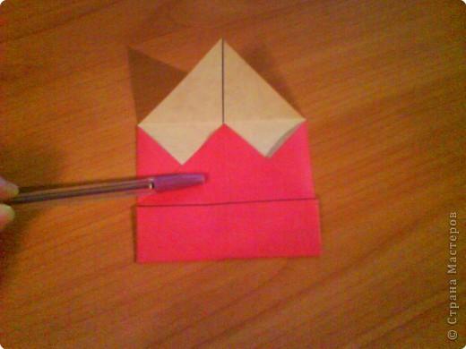 Квадрат для нижней части шкатулки  такого же размера, что и  для крышки. Намечаются две диагонали фото 6