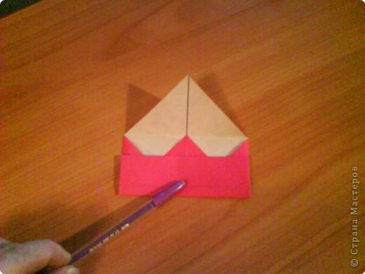 Квадрат для нижней части шкатулки  такого же размера, что и  для крышки. Намечаются две диагонали фото 7