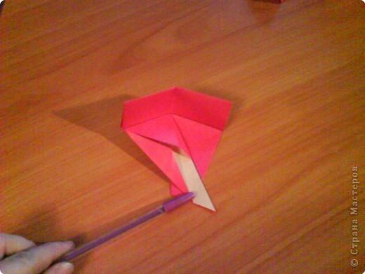 Квадрат для нижней части шкатулки  такого же размера, что и  для крышки. Намечаются две диагонали фото 12