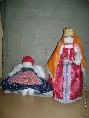 Кукла на выхвалку и русская кукла в штанах