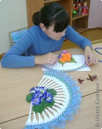 Бабочки сделаны из пластиковой бутылки фото 2