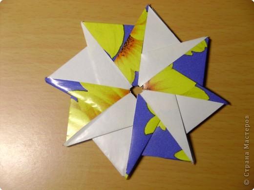 Такая звезда получается если все модули сделать одного цвета фото 10