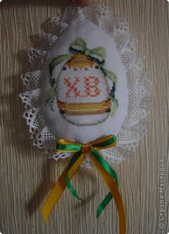Вышивка крестом: Яйцо пасхальное