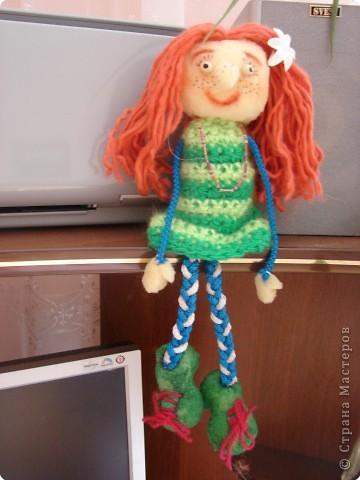 Игрушка мягкая: Деука в зелёных кроссоуках!!! :D фото 1