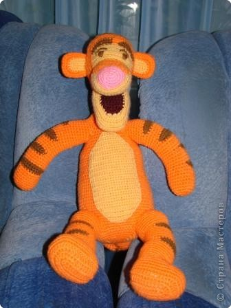 Вязание крючком: Мой Тигра. фото 1