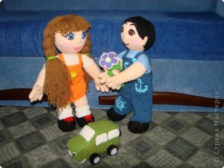 Вязание крючком: Кукла мальчик. фото 5