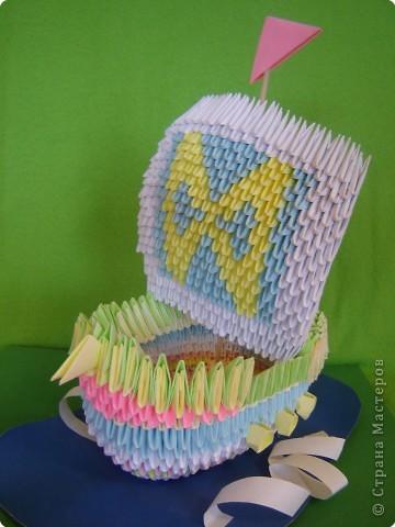 Оригами модульное: Мои пробные работы оригами фото 1