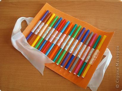 Своими руками пенал для карандашей