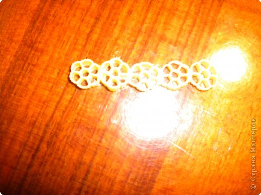 Шкатулка из макарон фото 5