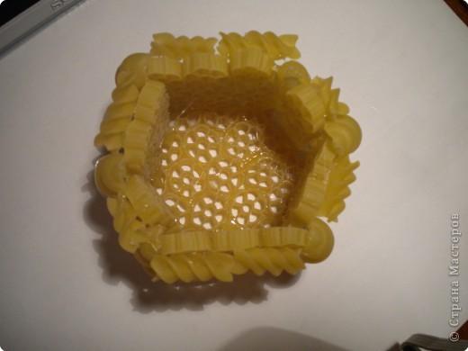 Шкатулка из макарон фото 9