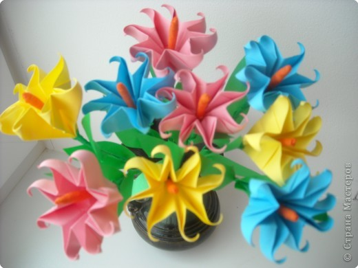 Цветочки-звездочки