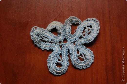 Плетение: вологодское кружево.бабочка фото 1