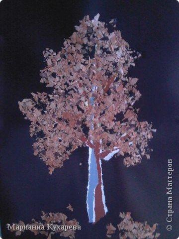 Дерево с крошевом