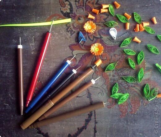 Это наши самодельные крутилки-рогатки-вилки для квиллинга.  фото 1