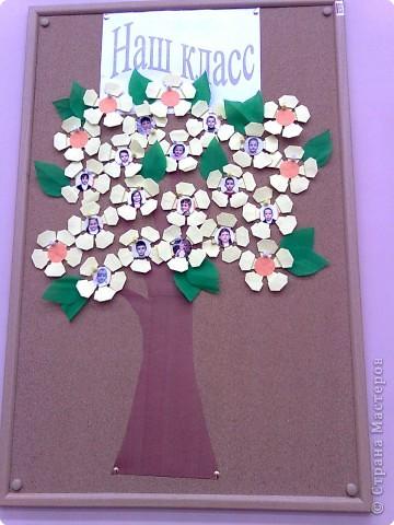 "Оригами: ""Классное дерево"" 2 ""Б""класса фото 1"