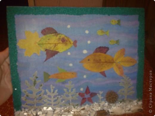 Подводный мир  Делали вместе с дочкой фото 1