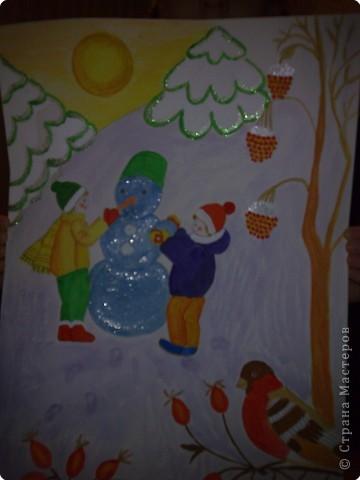 Подводный мир  Делали вместе с дочкой фото 3