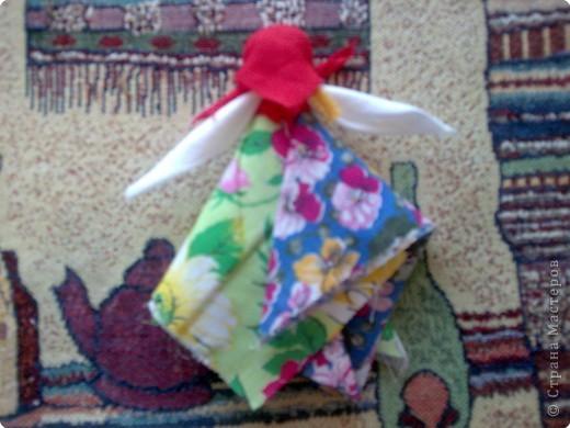 Хочу показать необычную куколку Масленицу. фото 3