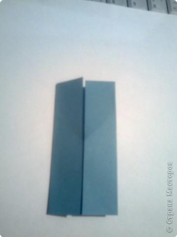 Складываем квадрат попалам. фото 3